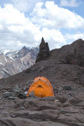 Tältplats Camp Canadá