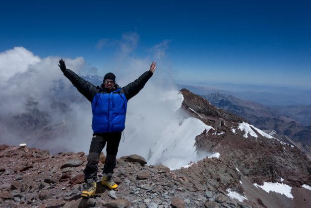 Äntligen - på toppen av Aconcagua