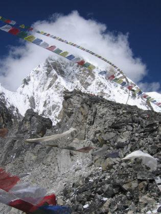På toppen av Kalapathar