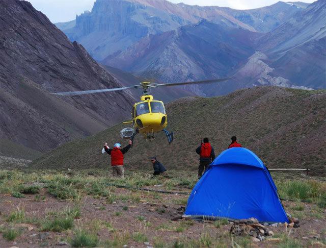 Räddningsaktion på Aconcagua