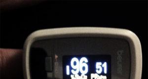 Pulsoximeter - Janne på havsnivå