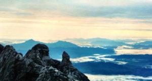 Mount Kinabalu – utsikt från toppen