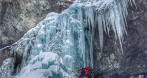 Isklättring i Cogne, Valle d'Aosta