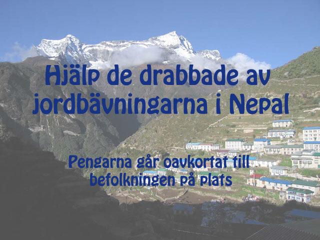 Hjälp Nepal