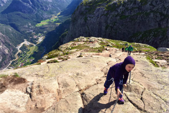 Alvin i Norge, Lysefjorden