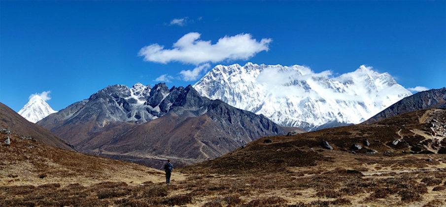 Pumori, Nuptse, Everest & Lhotse