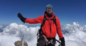 På toppen av Elbrus